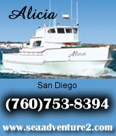 Alicia Sportfishing Charters out of H&M Landing - 760-753-8394
