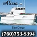 Alicia Sportfishing docked at H and M Landing, San Diego CA