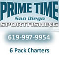Prime Time Sportfishing - 6 person charters in San Diego, CA