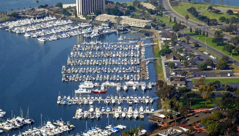 Seaforth Marina Arial Map